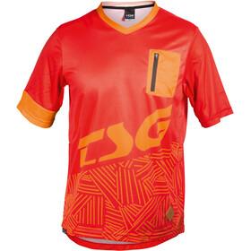 TSG SP3 Kurzarm Trikot Herren red-acid orange